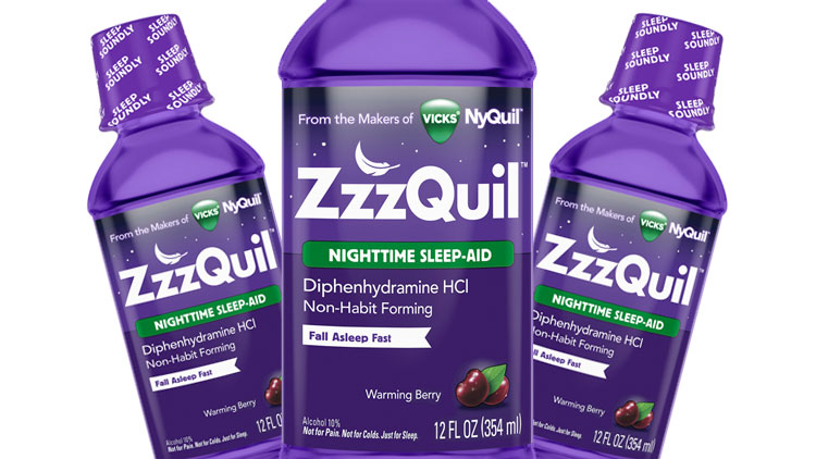Picture of Vicks ZzzQuil Nighttime Sleep-Aid