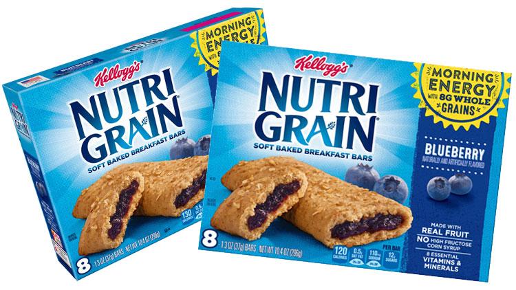 Picture of Kellogg's Nutri Grain Soft Baked Breakfast Bars