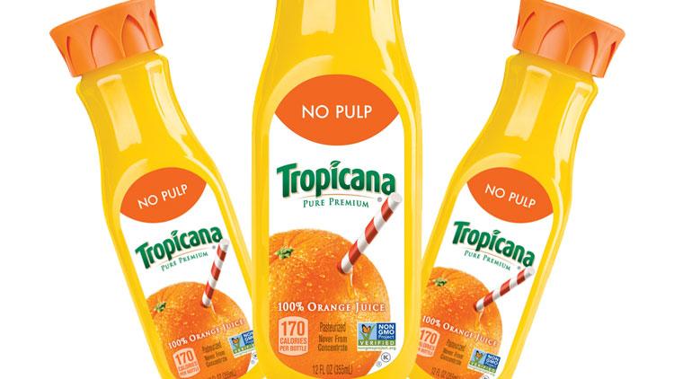 Picture of Tropicana Orange Juice or Apple Juice