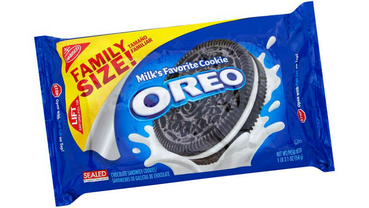 Picture of Nabisco Family Size! Oreo Cookies
