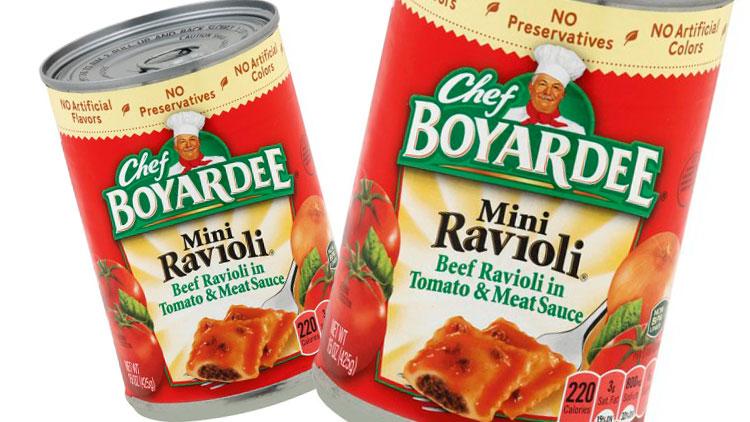Picture of Chef Boyardee Pasta
