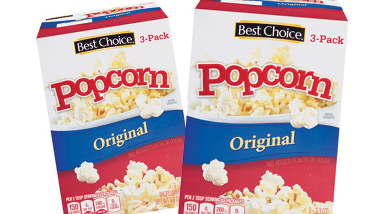 Picture of Best Choice Microwave Popcorn