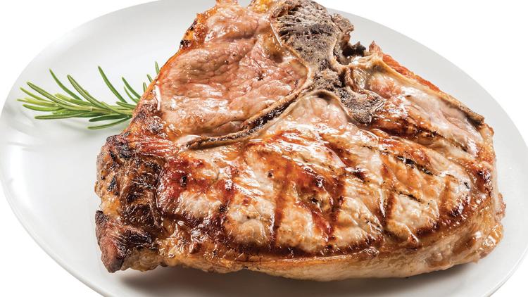 Picture of Smithfield Husker Thick Cut Pork Chops, Loin Roast or Rib Roast