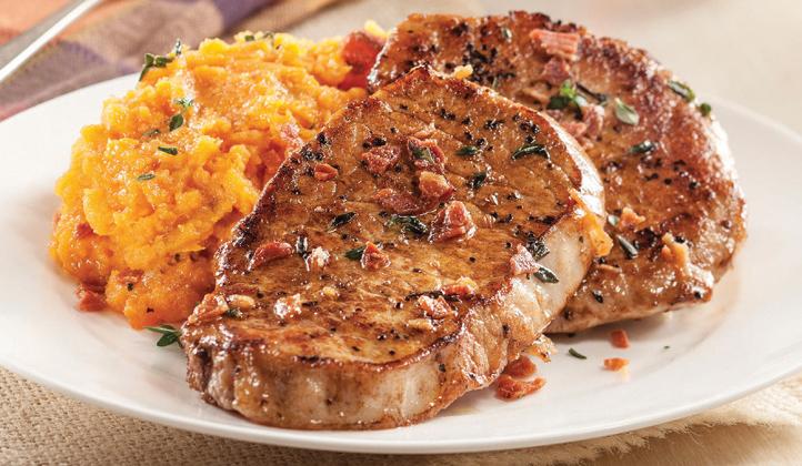 Picture of Smithfield Boneless Pork Loin Chops or Loin Roast