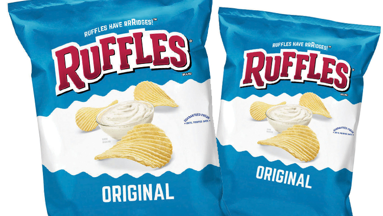 Picture of Doritos Tortilla Chips or Ruffles Potato Chips