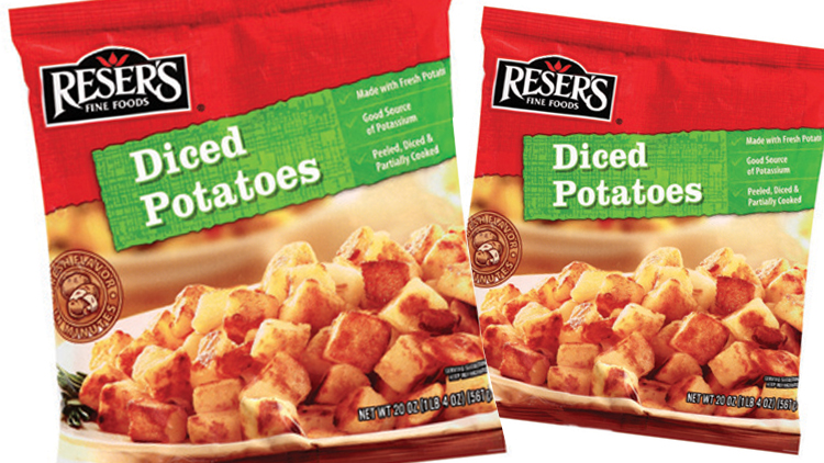 Picture of Reser's Hash Browns or Diced Potatoes
