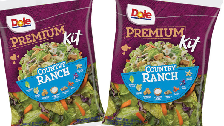 Picture of Dole Premium Salad Kit