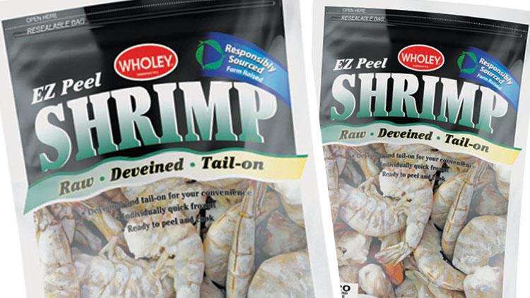 Picture of Wholey EZ Peel White Raw Shrimp