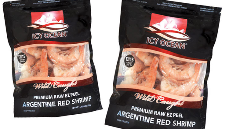 Picture of Icy Ocean EZ Peel Raw Argentine Red Shrimp