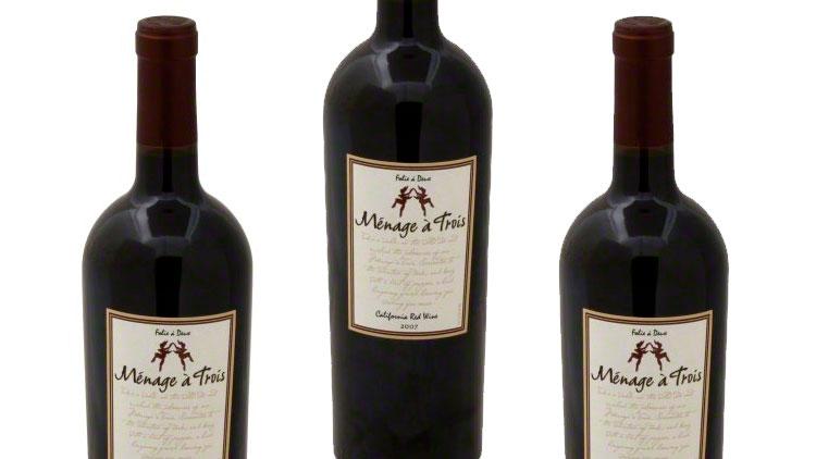 Picture of Menage a Trois Wine