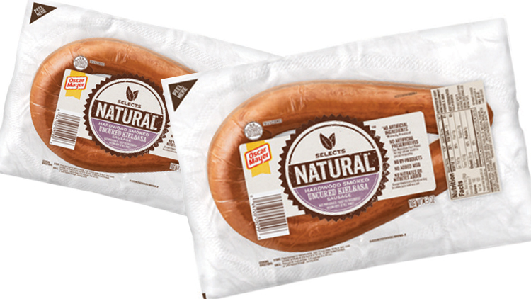 Picture of Oscar Mayer Select Natural Beef or Turkey Rope Sausage