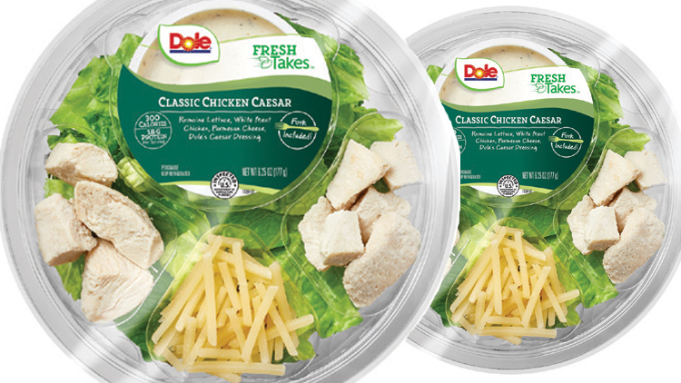 Picture of Dole Fresh Takes Salads