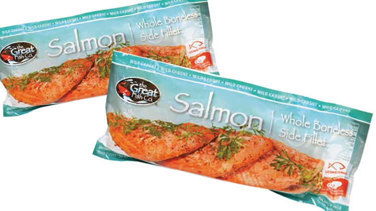 Picture of The Great Fish Co. Salmon Fillet