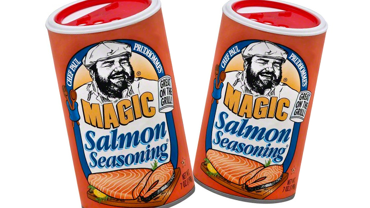 Picture of Chef Paul Prudhomme Magic Salmon Seasoning