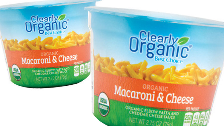 Picture of Clearly Organic Shells & Cheese or Macaroni & Cheese