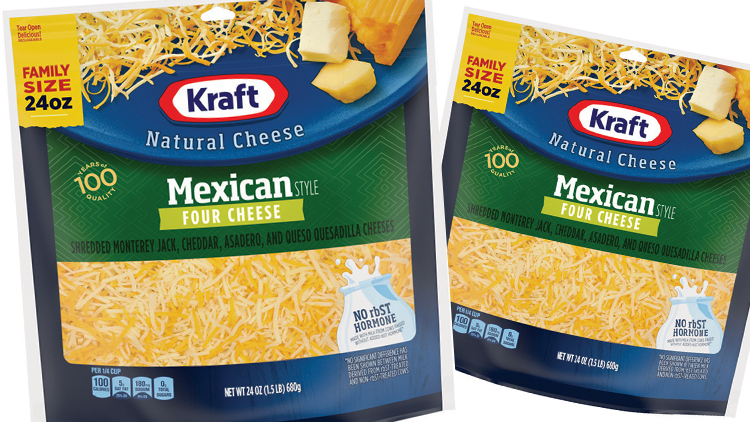 Picture of Kraft Natural Shredded Cheese