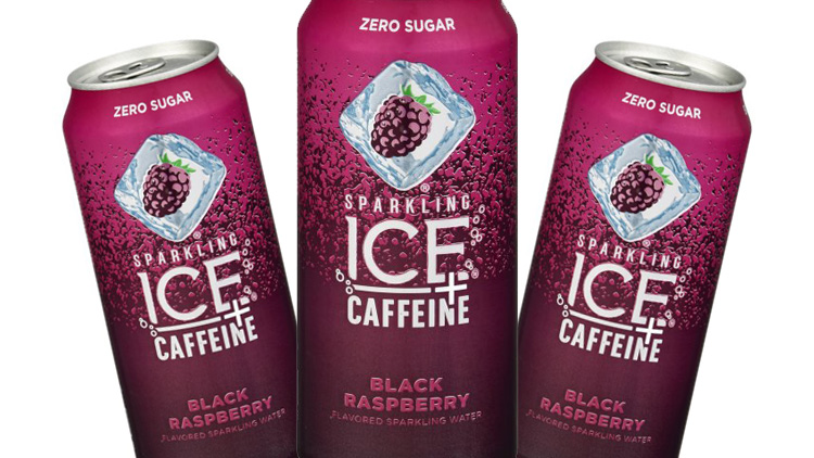 Picture of Sparkling Ice + Caffeine Naturally Flavored Sparkling Water
