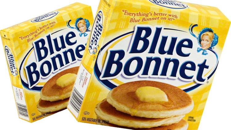 Picture of Blue Bonnet Quartered Spread