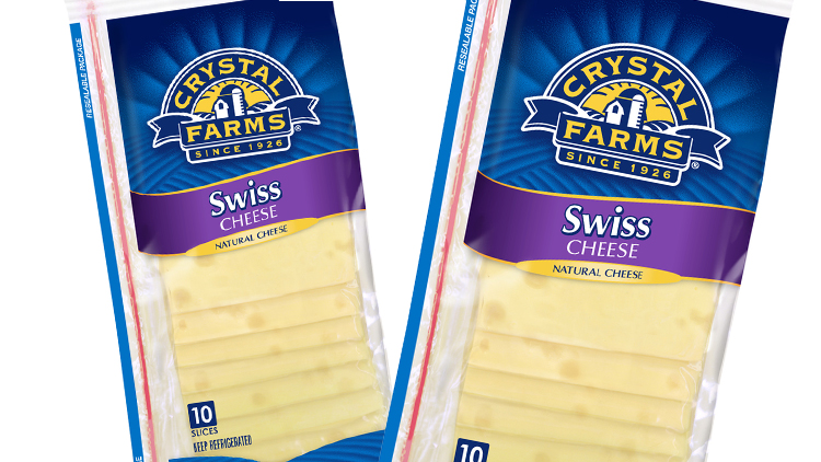 Picture of Crystal Farms Sliced Cheese