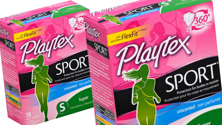 Picture of Playtex Sport Tampons or Simply Gentle Glide Tampons
