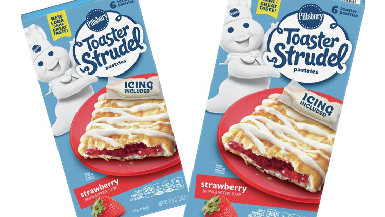 Picture of Pillsbury Toaster Strudel or Scrambles