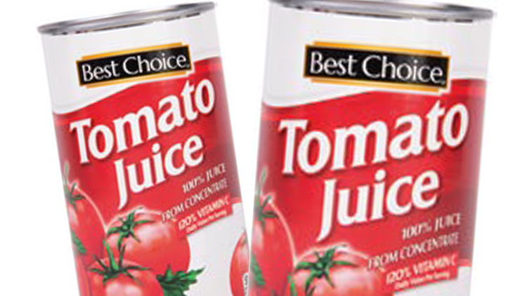 Picture of Best Choice Tomato Juice