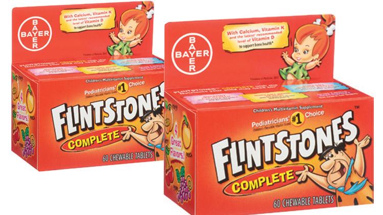 Picture of Flintstones Children's Multivitamin Supplement