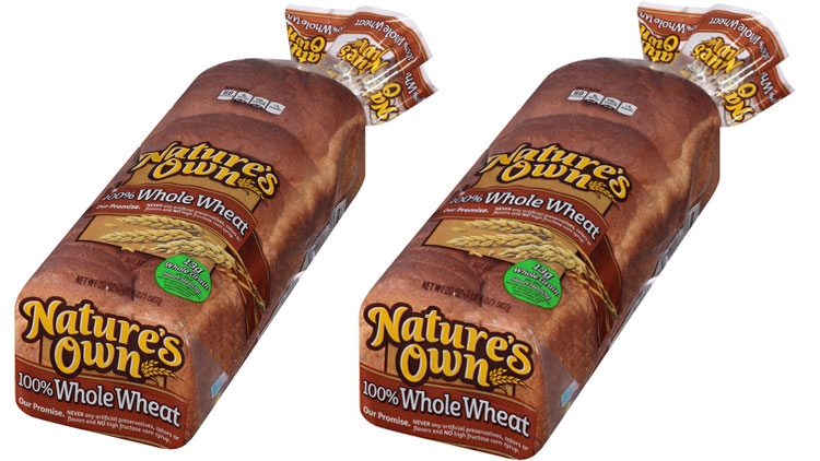 Picture of Nature's Own 100% Whole Wheat Bread